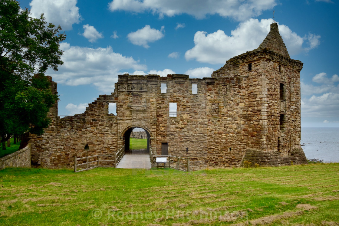 """Scottish Castle"" stock image"