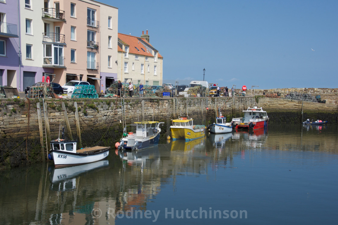 """Harbour Scene"" stock image"