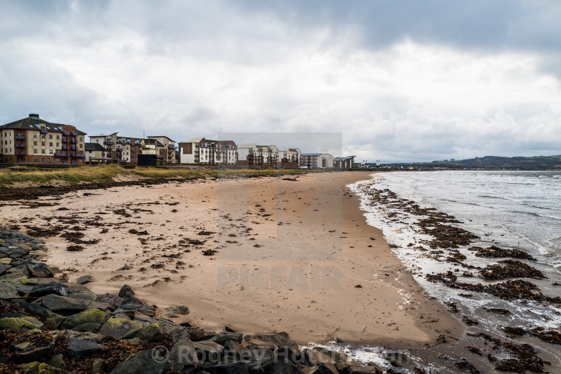 """Ayr seafront"" stock image"