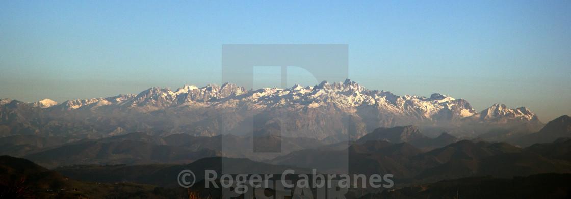 """""""The Picos de Europa"""" stock image"""