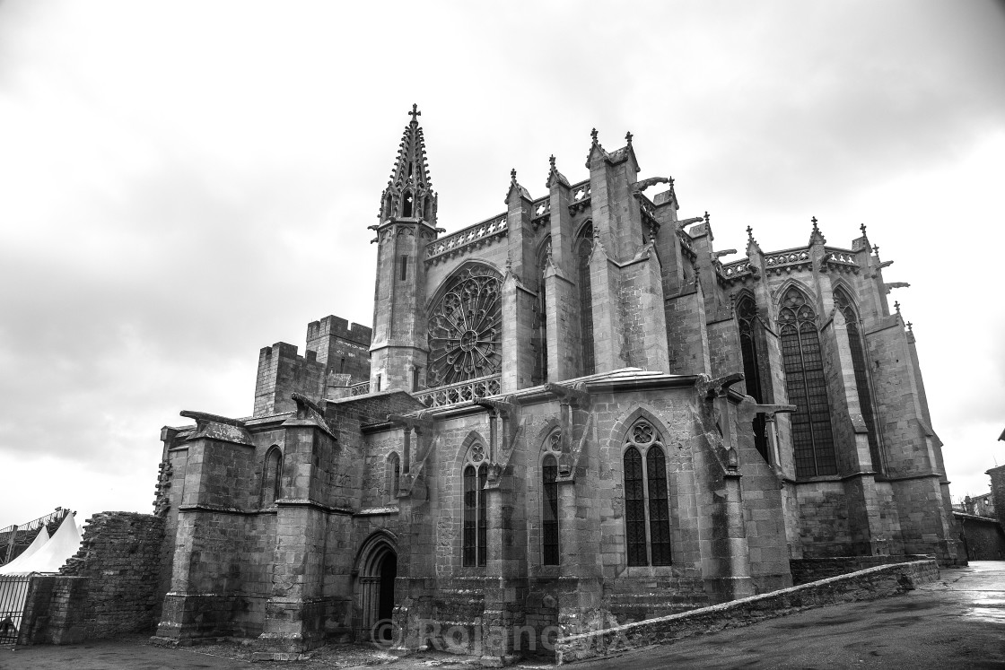 """""""The Gothic Church."""" stock image"""