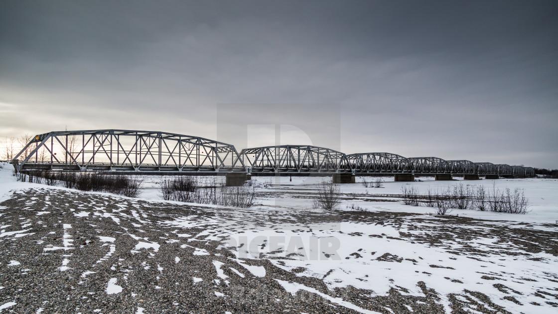 """Veteran Bridge"" stock image"