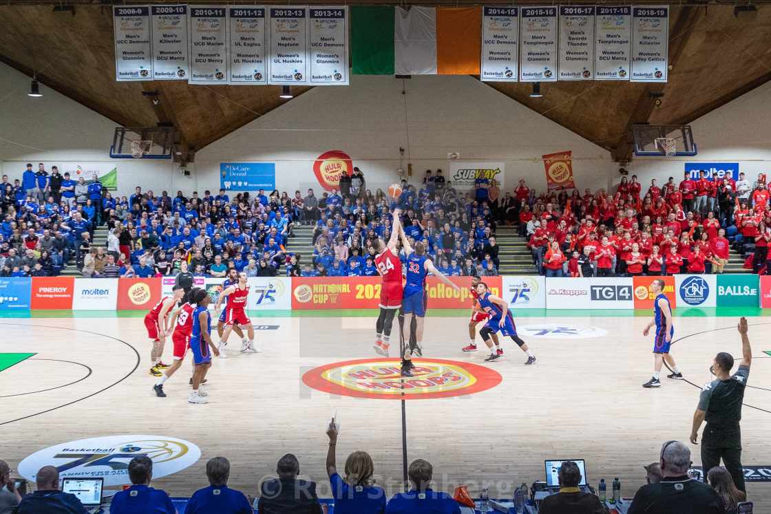"""""""Ireland National Cup Final 2020"""" stock image"""