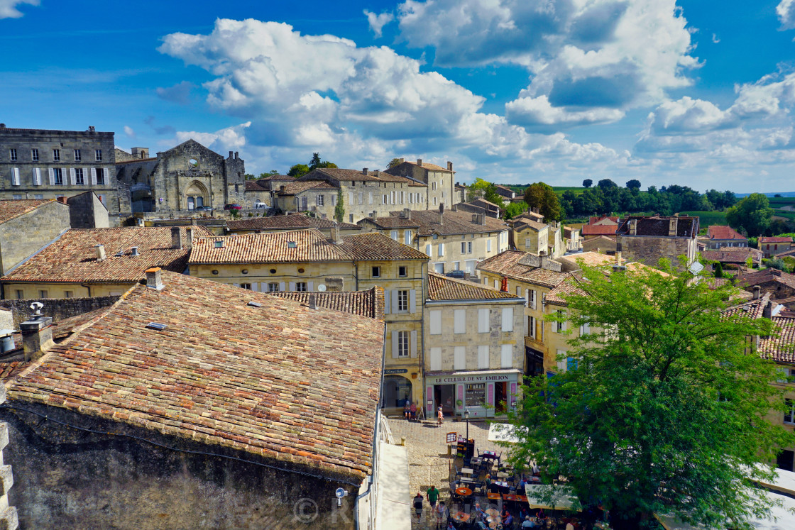 """Saint Emilion, France"" stock image"
