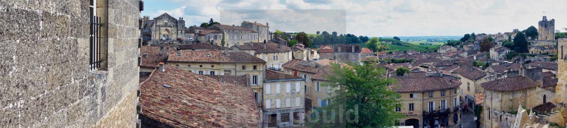 """""""Saint Emilion, France"""" stock image"""