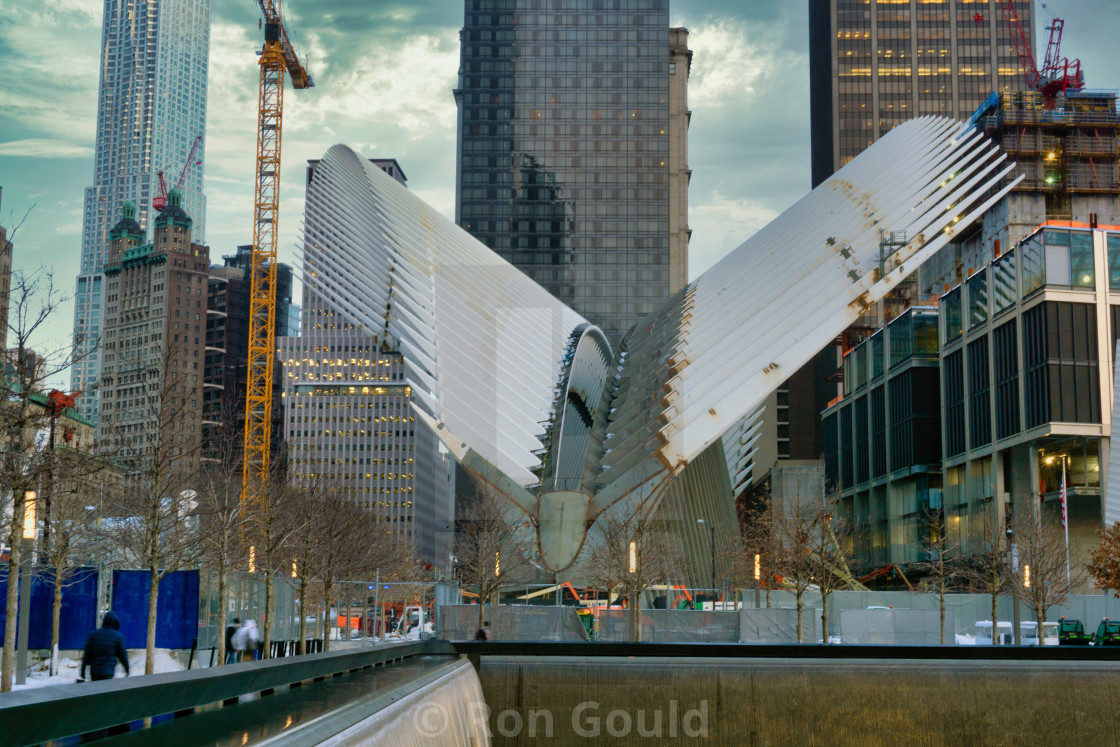 """Ground Zero, NYC"" stock image"