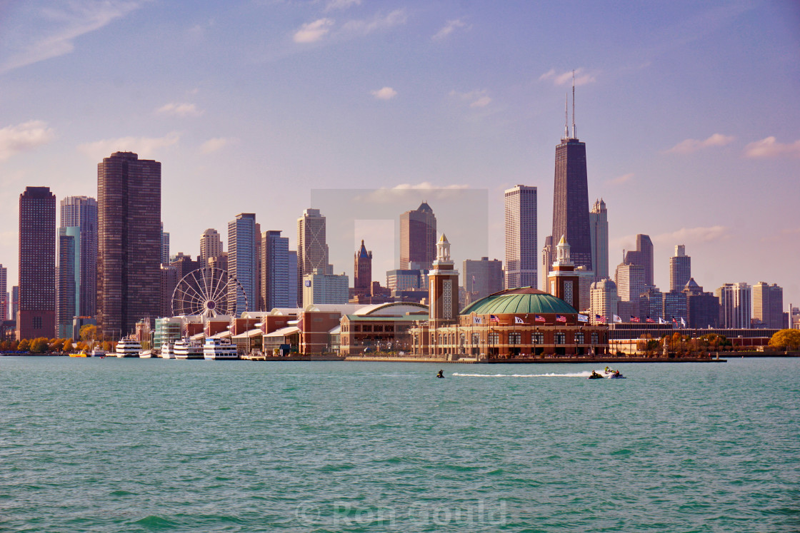"""Chicago Navy Pier"" stock image"