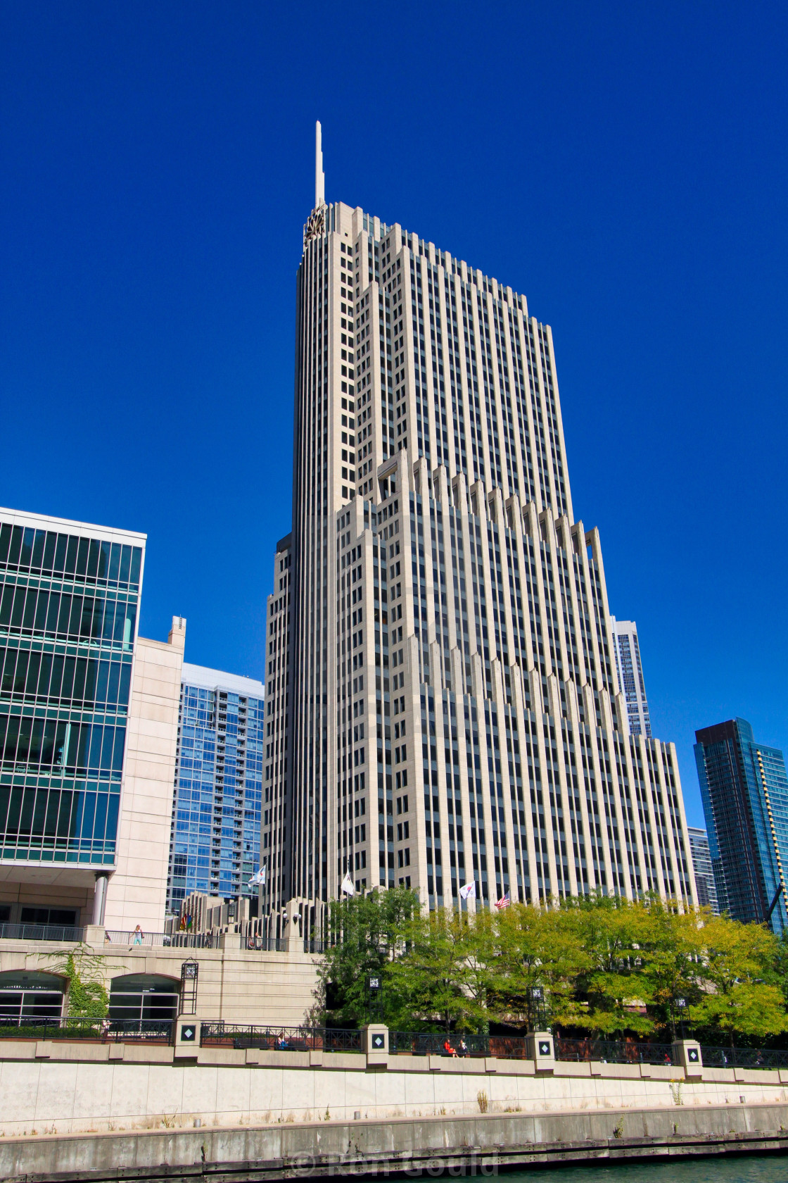 """NBC Tower Chicago"" stock image"