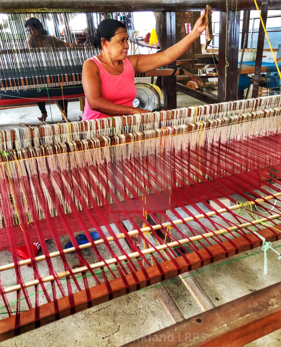 """""""Hablon Sa Cebu, 2"""" stock image"""