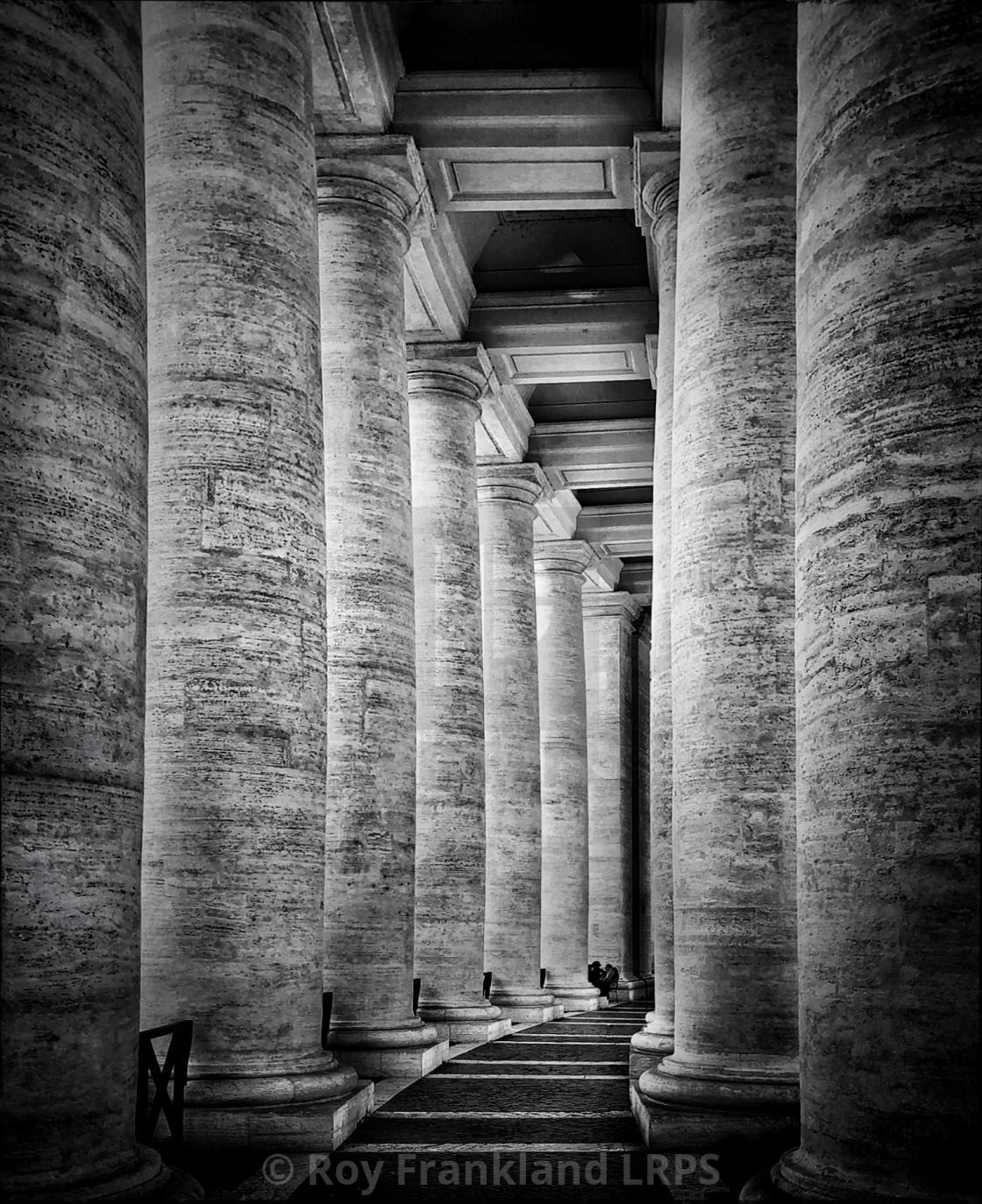 """""""Pillars of Faith"""" stock image"""