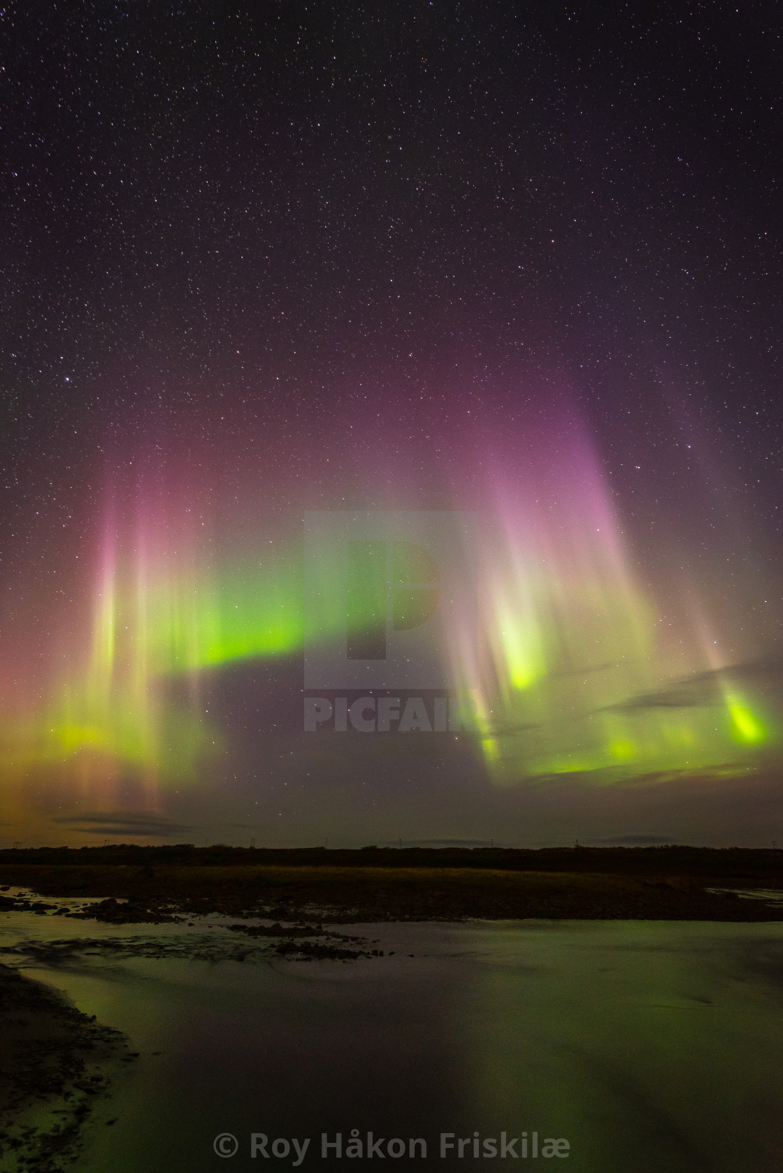 """Northernlights"" stock image"