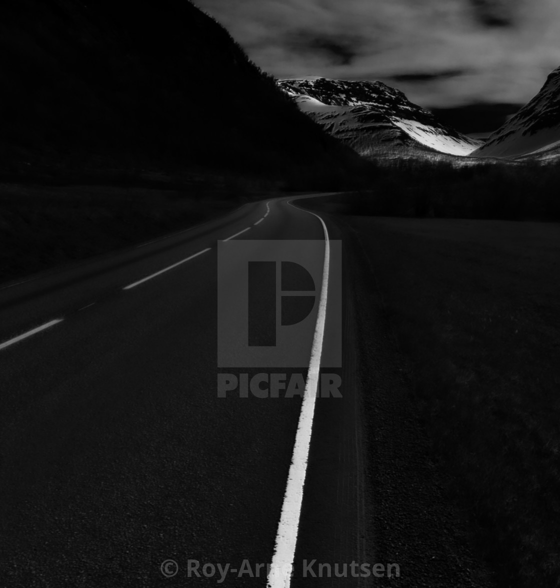 """The road"" stock image"
