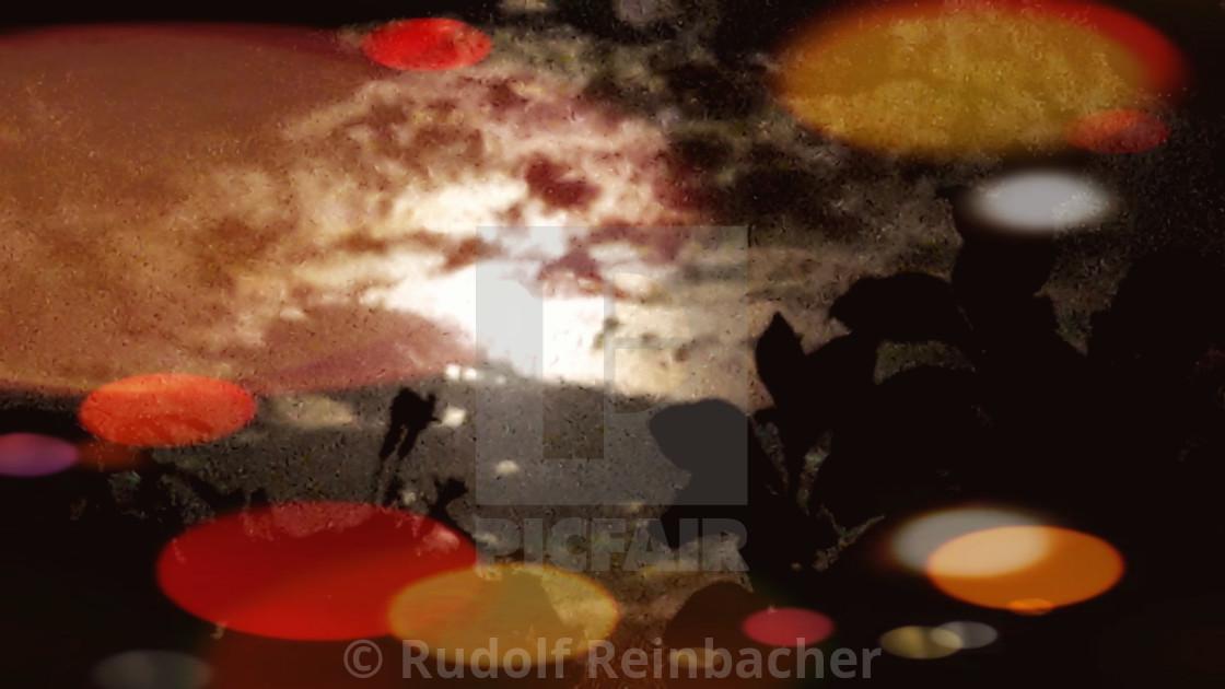 """""""Alien Full-moon"""" stock image"""