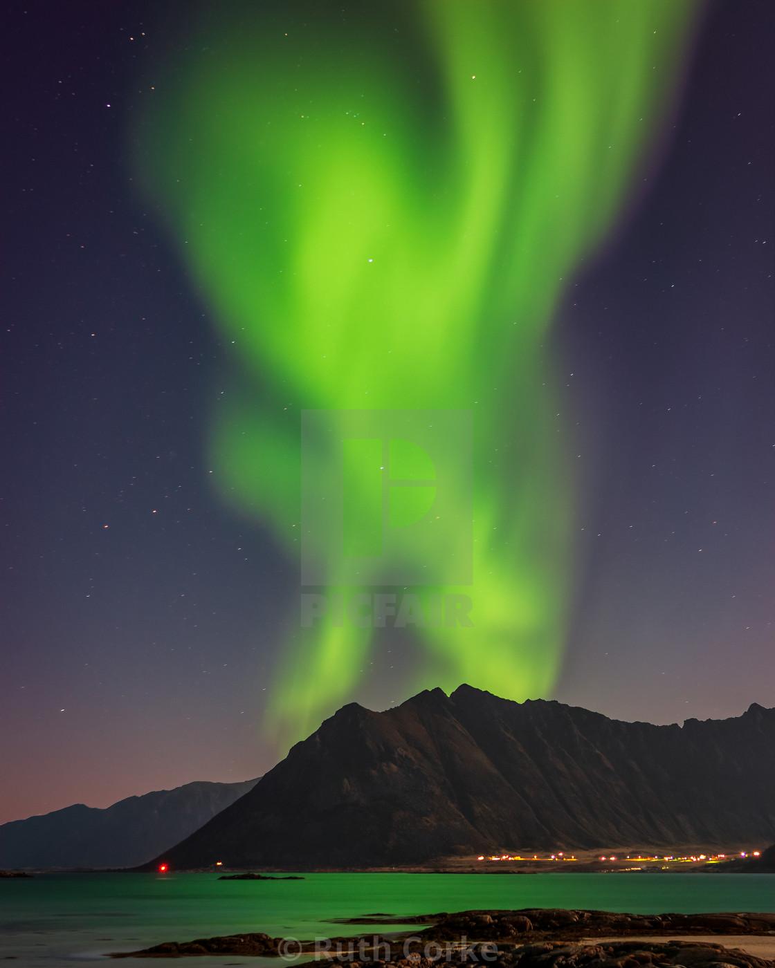"""""""Dancing Aurora"""" stock image"""
