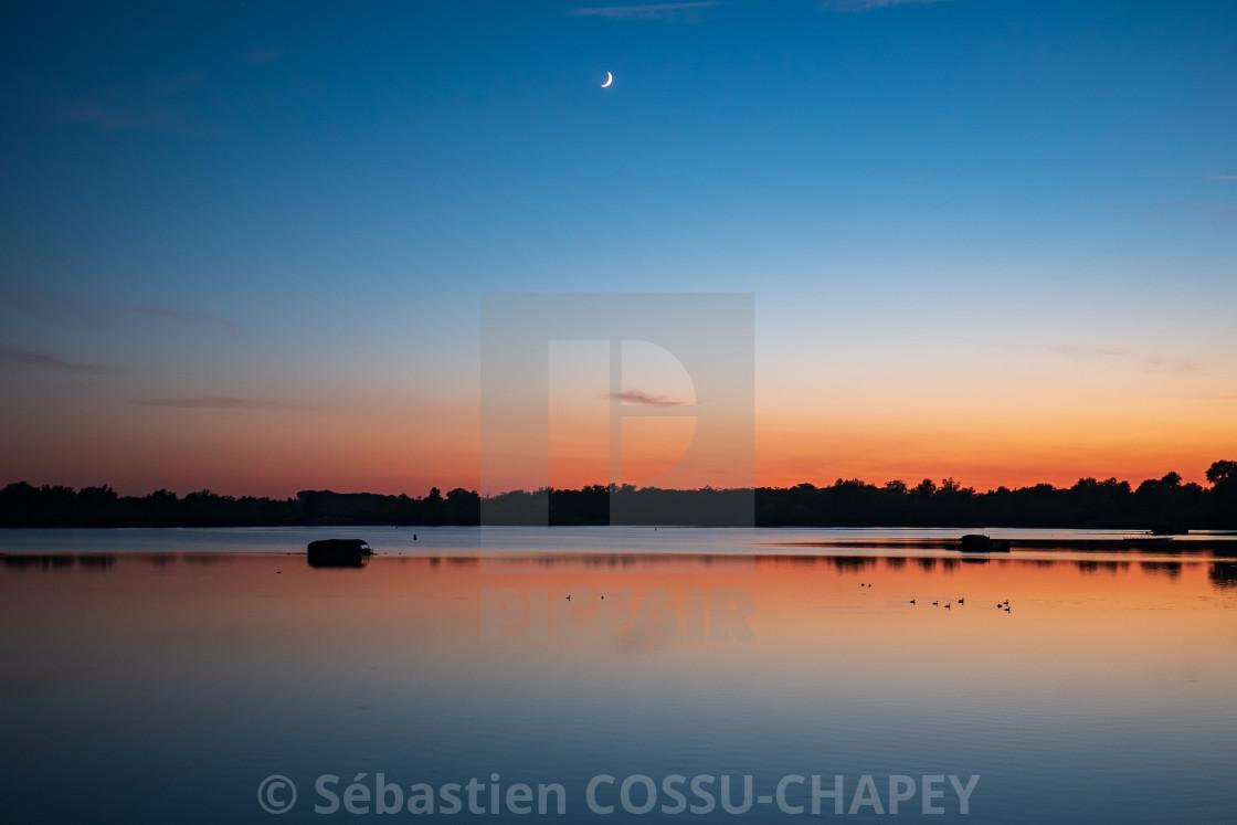 """""""Sunset - Amaury"""" stock image"""