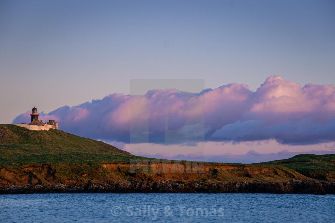 """Purple Clouds"" stock image"