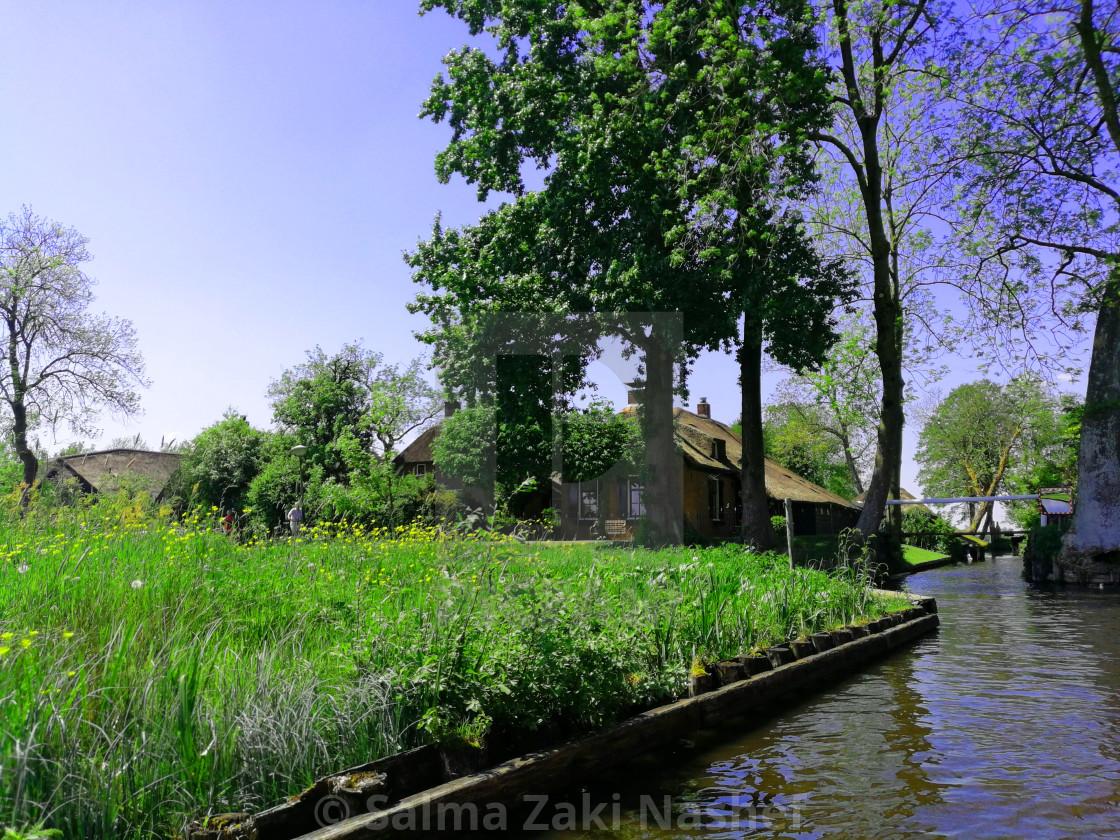 """Giethoorn- Holland"" stock image"