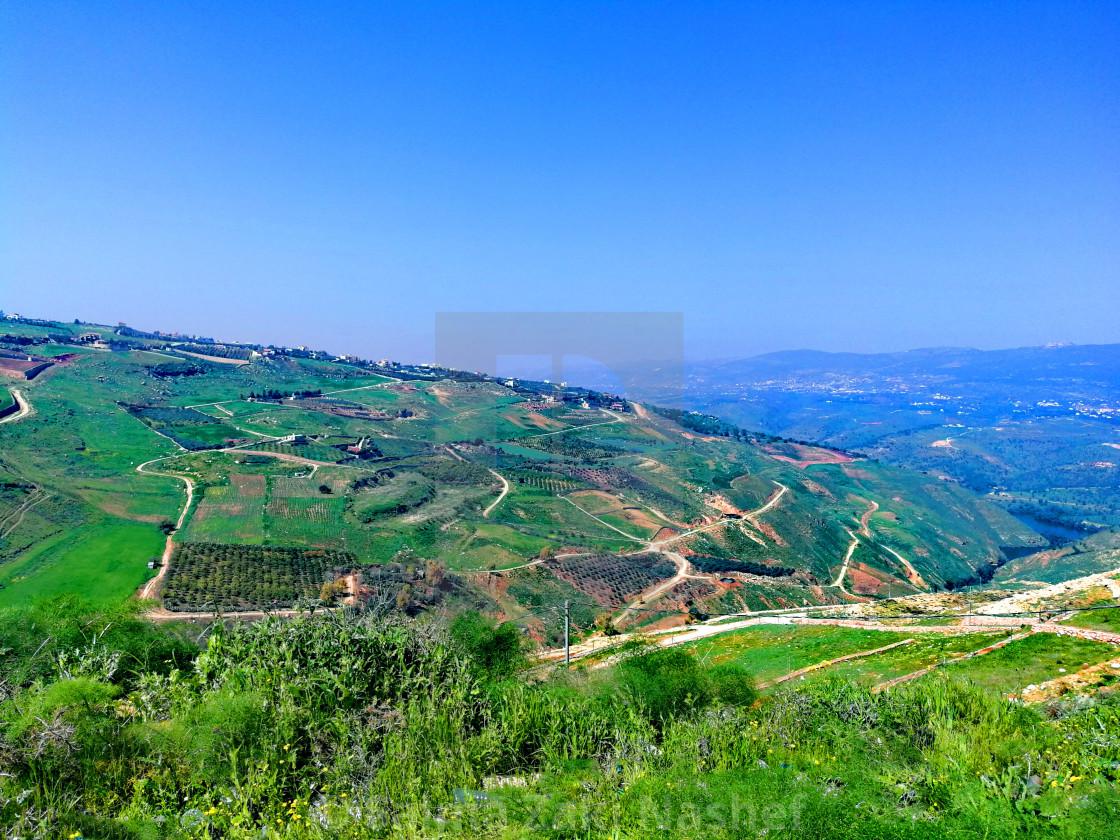 """A natural view- Jordan"" stock image"