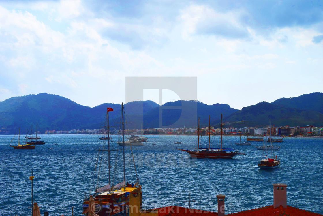 """Marmaris- Turkey"" stock image"