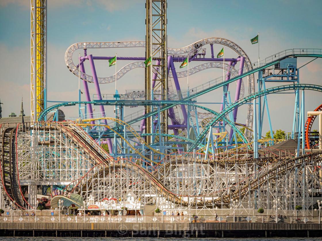 """Stockholm Funpark"" stock image"