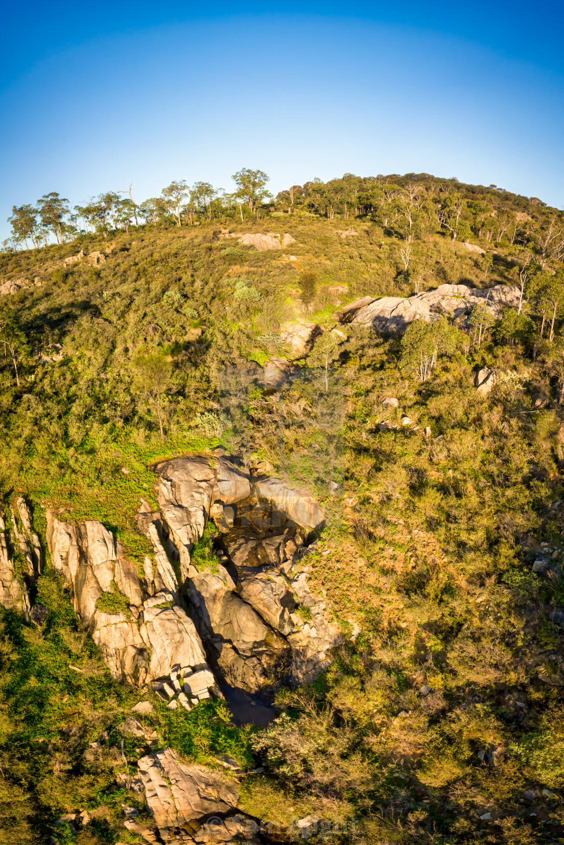 """Rocky Creek, Perth Hills"" stock image"