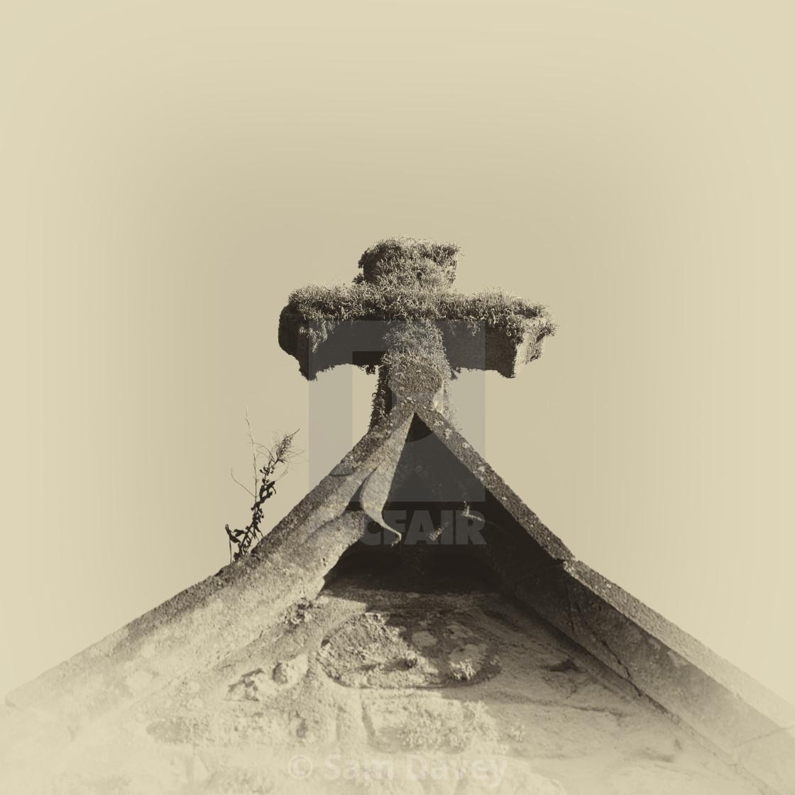 """Church Cross"" stock image"