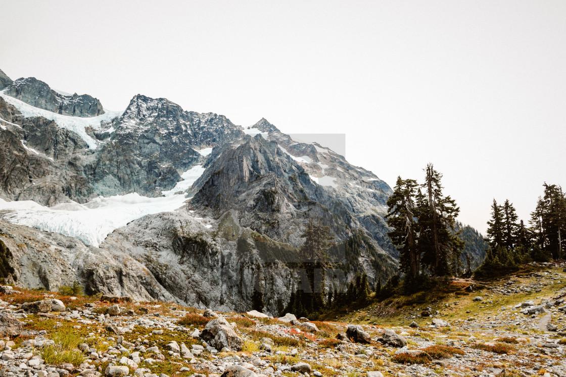 """""""Mountain View"""" stock image"""