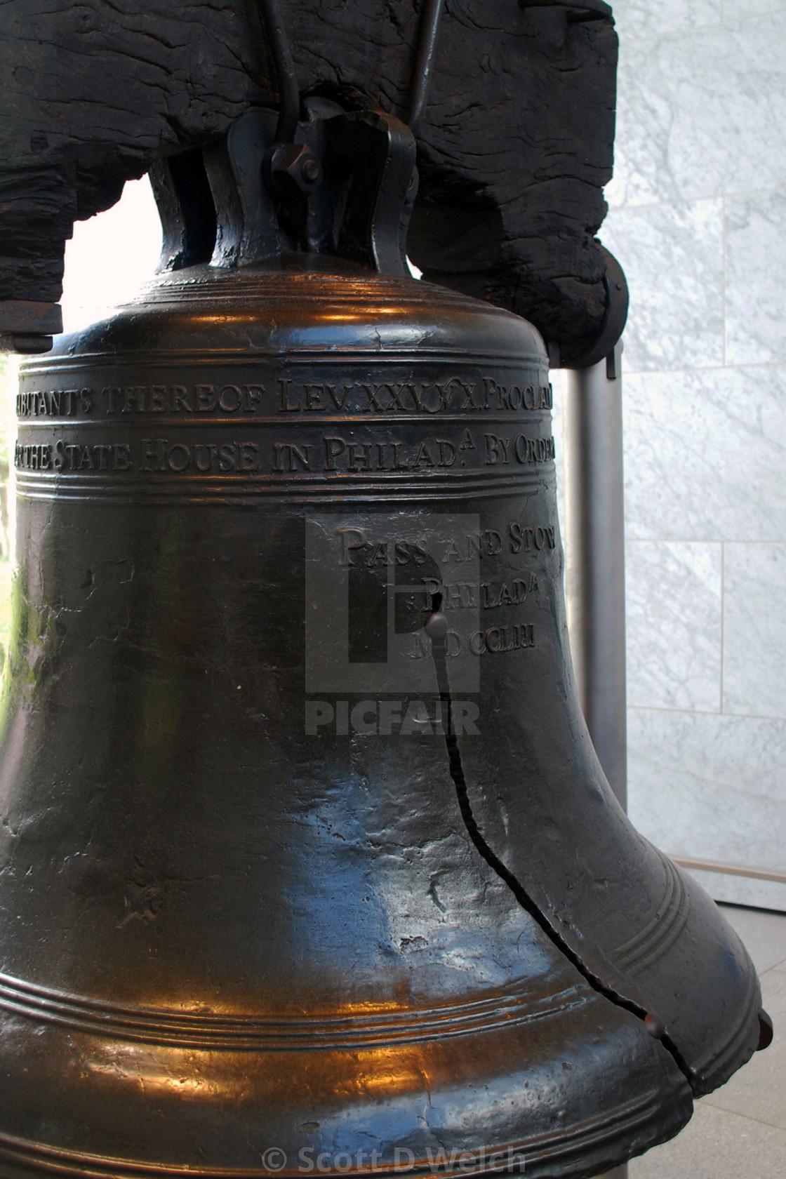 """Liberty Bell"" stock image"