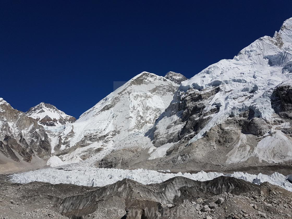 """Khumbu Icafall"" stock image"