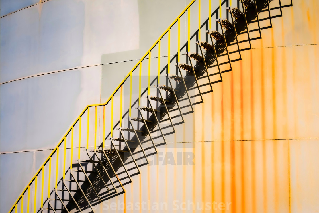 """""""The Stairs"""" stock image"""