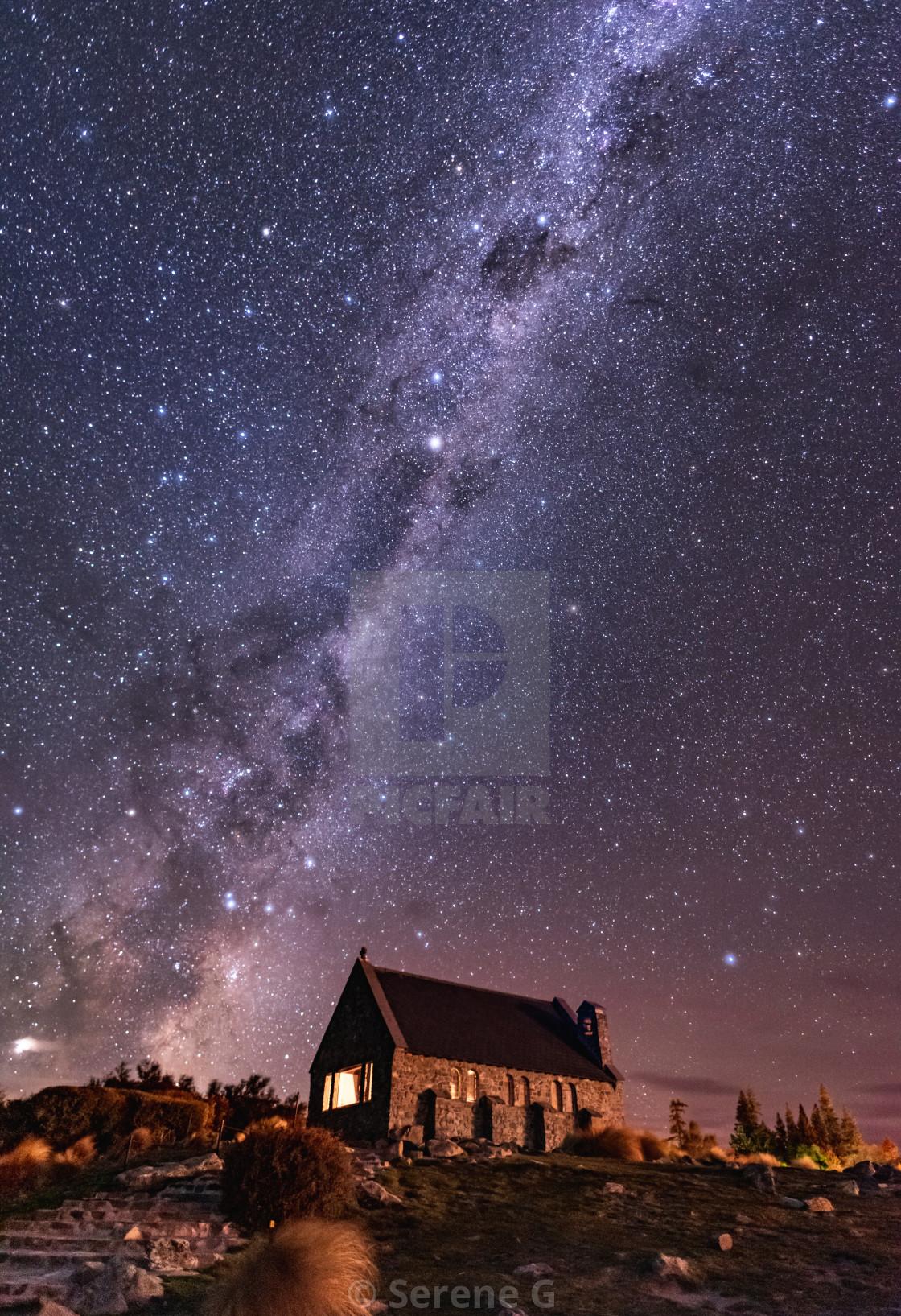 """Milky Way to Heaven"" stock image"