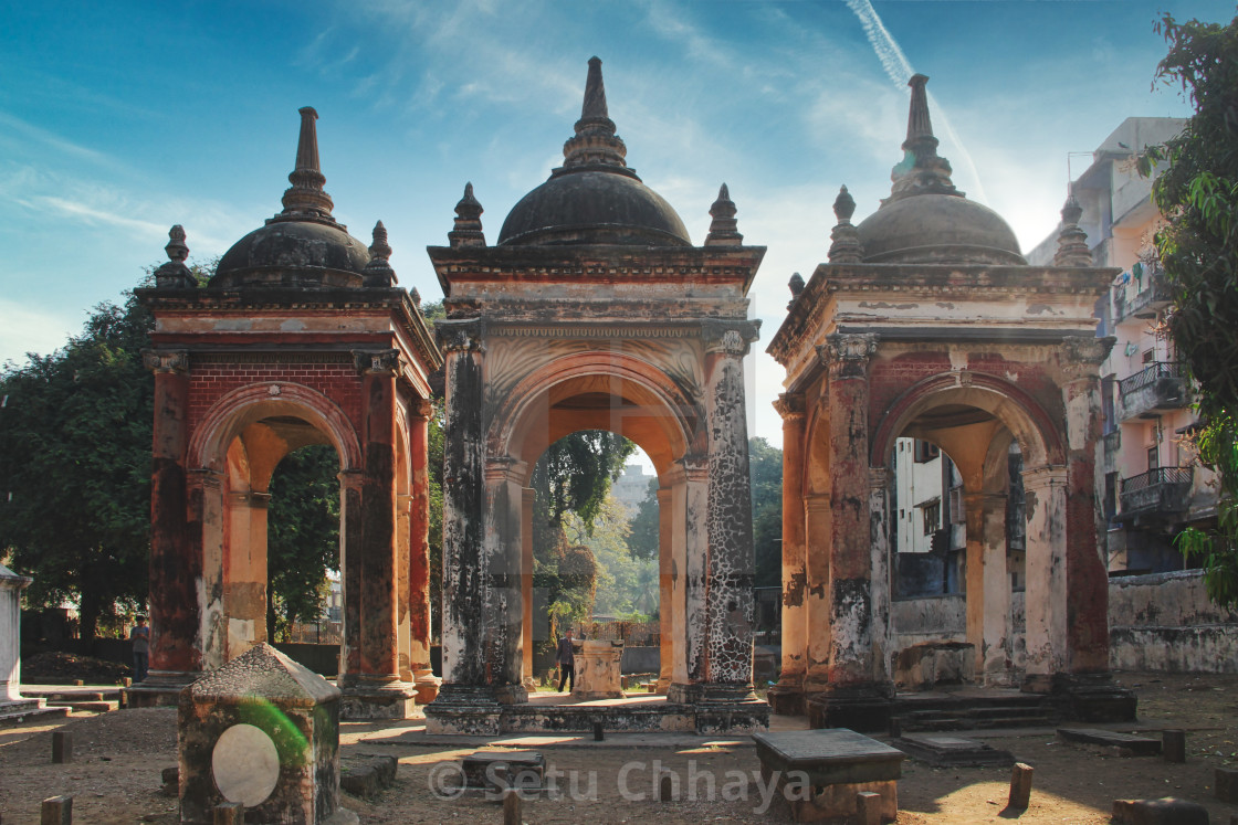 """""""3 tombs near to each other"""" stock image"""