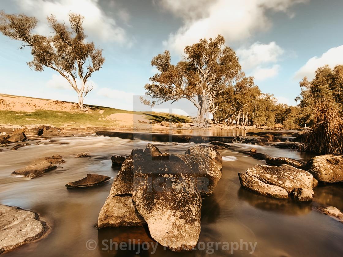 """""""River Rocks"""" stock image"""