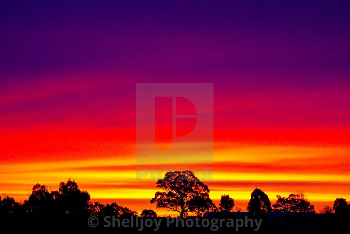 """""""Epic Sunset."""" stock image"""