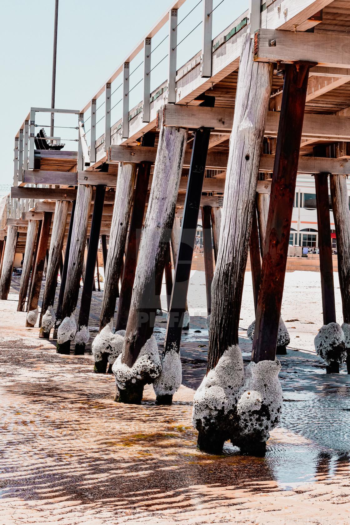 """Henley Pier"" stock image"
