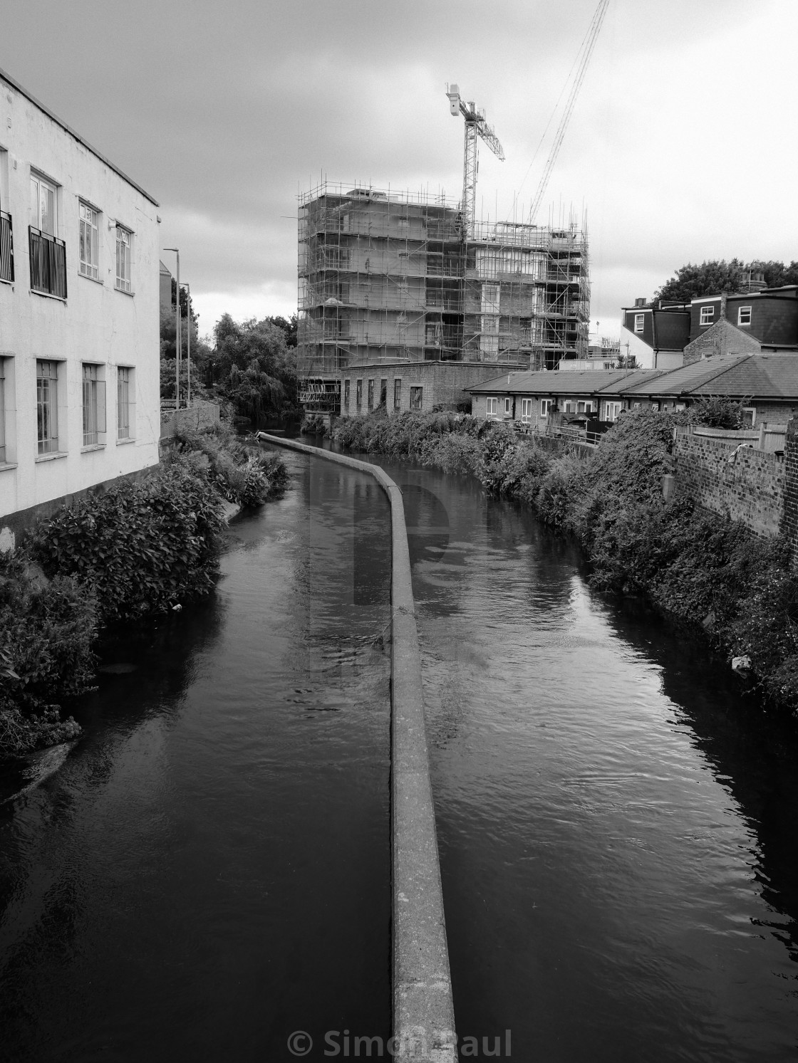 """""""The River Wandle"""" stock image"""