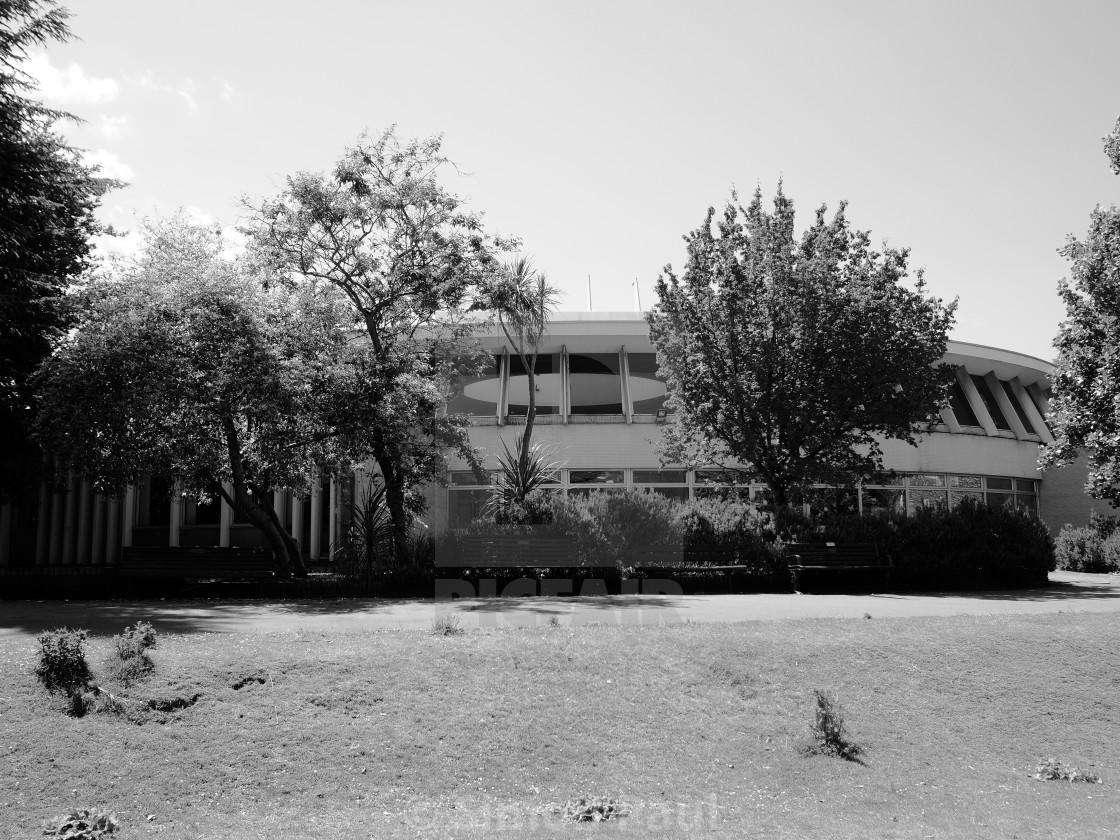 """""""Bourne Hall"""" stock image"""