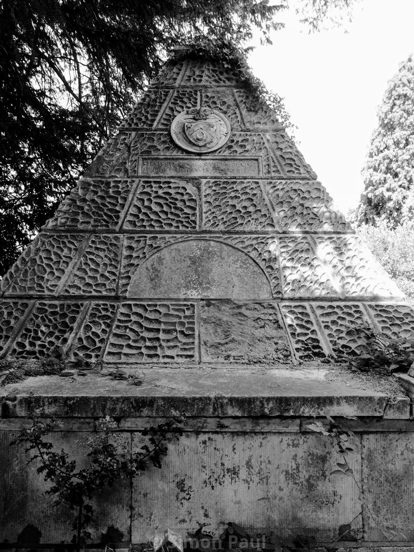 """Pyramid Memorial"" stock image"