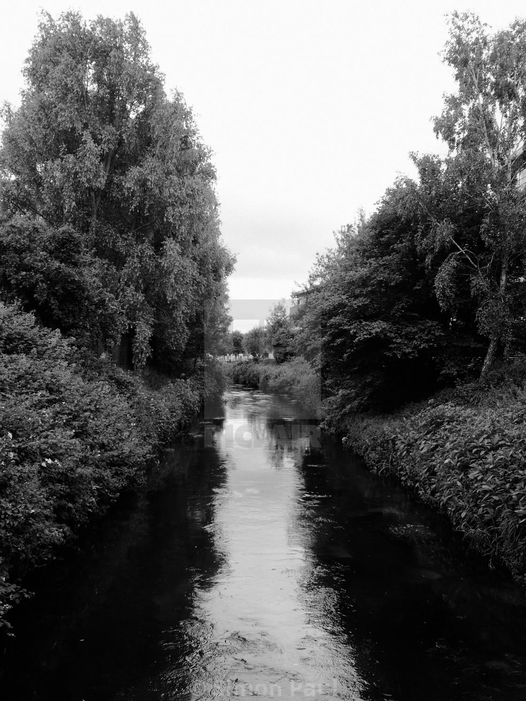 """River Wandle"" stock image"