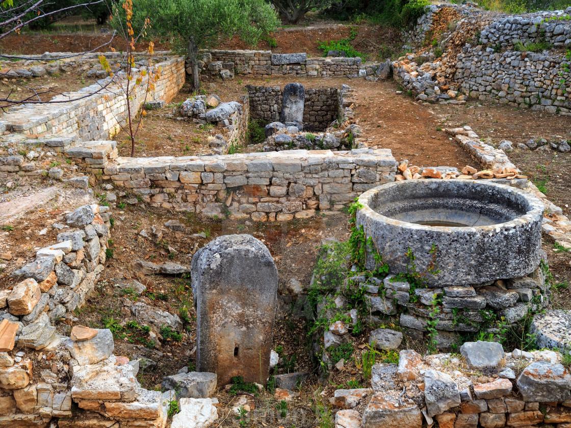 """Roman Villa"" stock image"