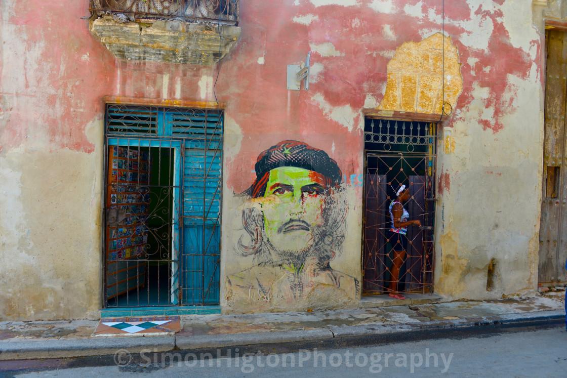 """Cuban Street Art"" stock image"