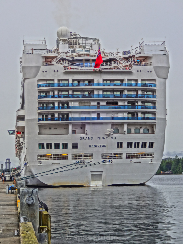 """Grand Princess cruise ship"" stock image"