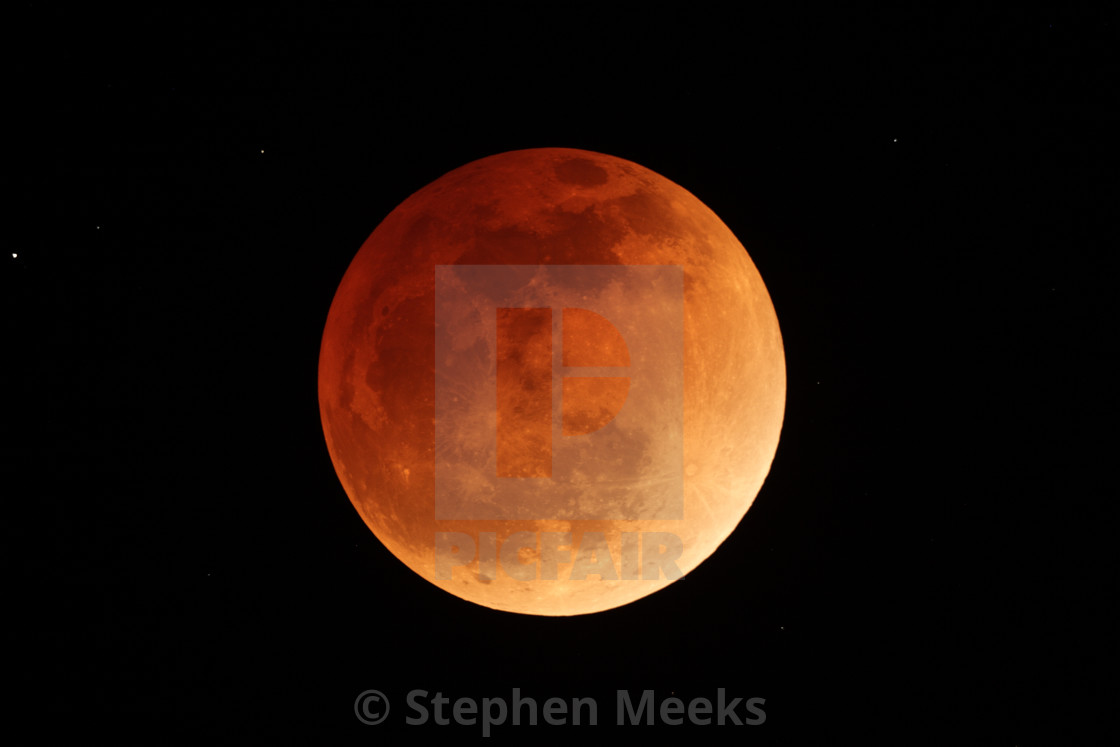 """Total Lunar Eclipse"" stock image"