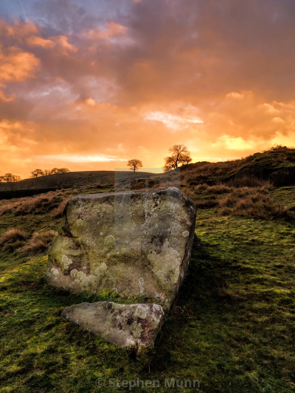 """""""Rock at Chatsworth"""" stock image"""