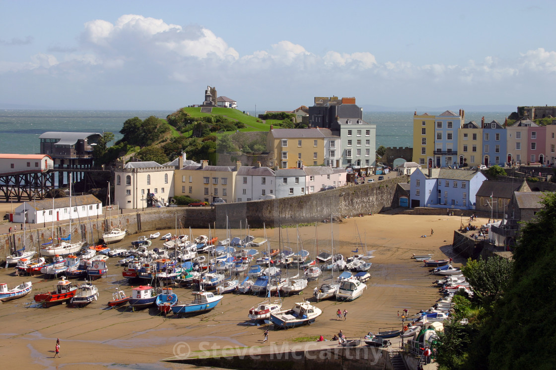 """Tenby"" stock image"