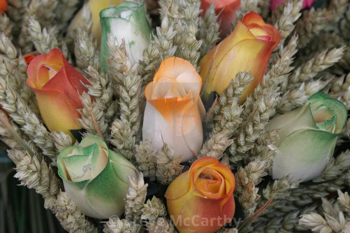 """""""Artificial flowers"""" stock image"""