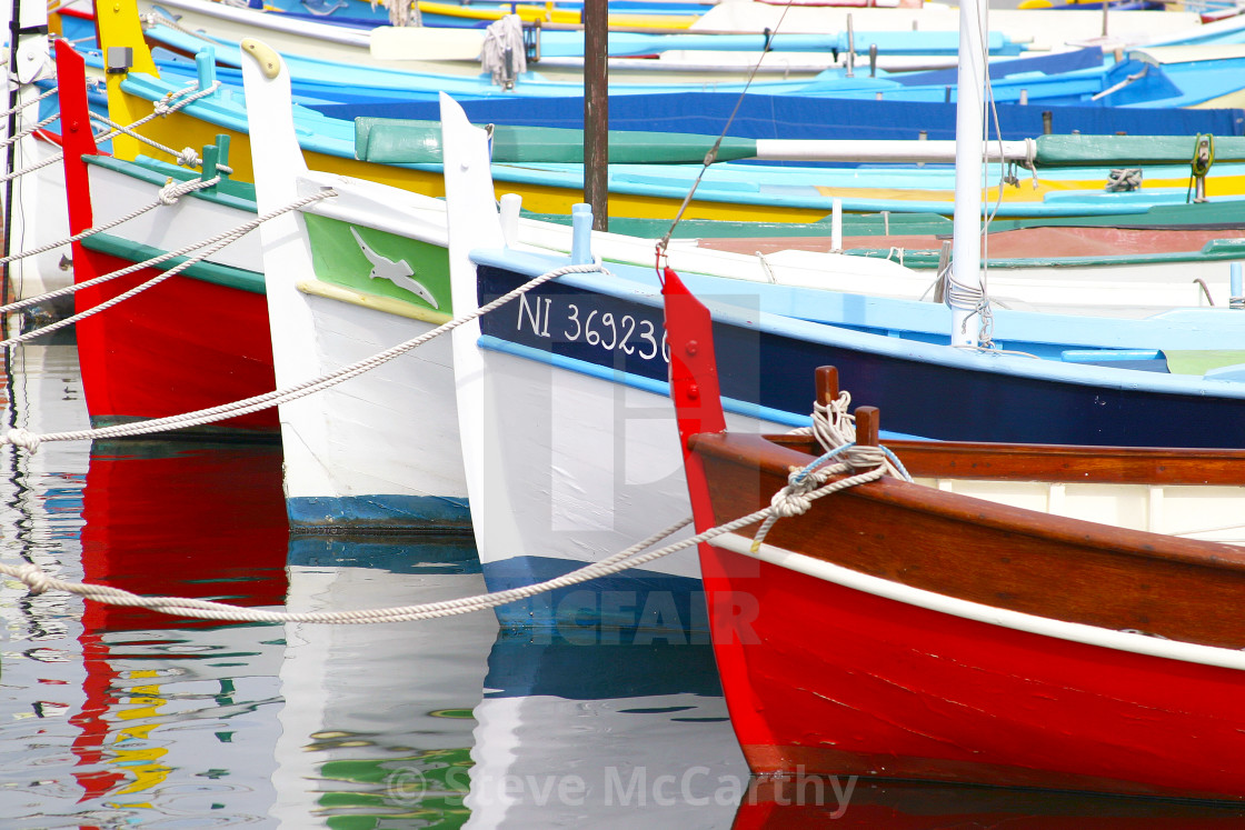 """Fishing boats"" stock image"