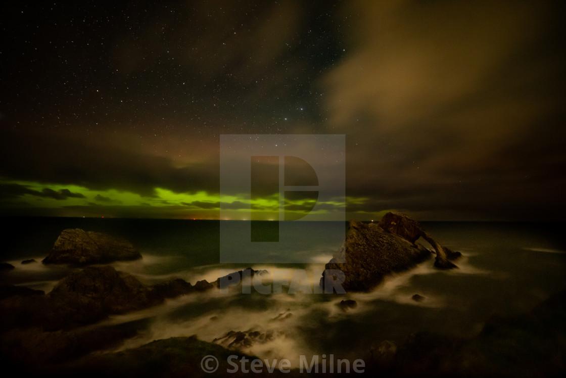 """Bow Fiddle Aurora"" stock image"