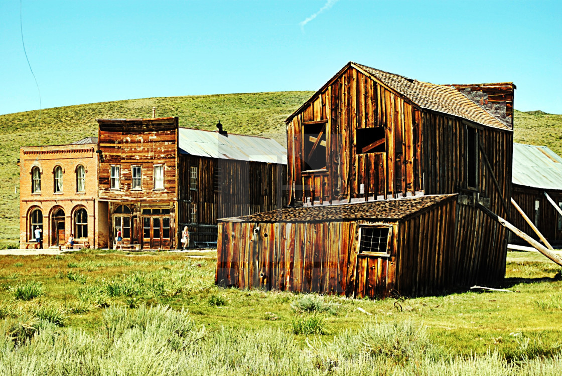 """Bodie's buildings"" stock image"