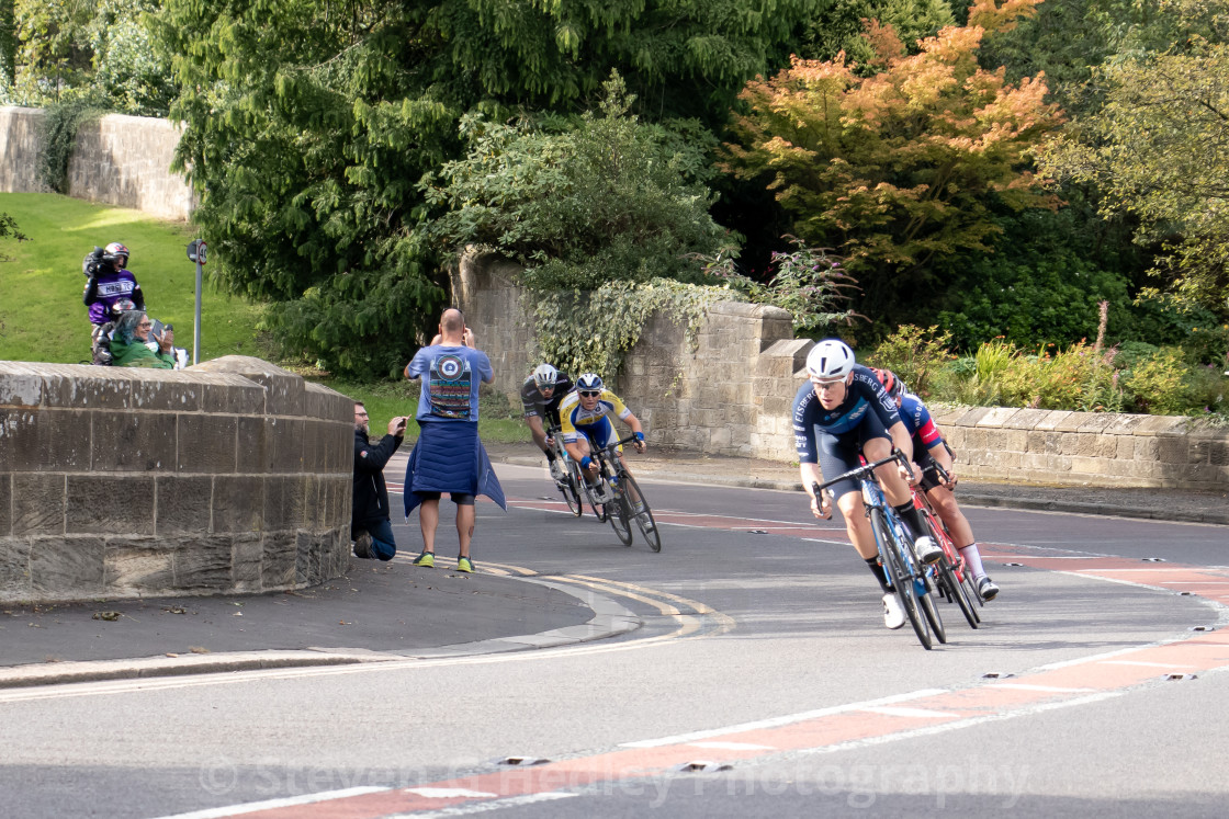"""""""Cycling, 2019 Tour of Britain, Stage Three"""" stock image"""